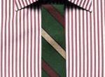 Koszula, $325,  Ermenegildo Zegna.  Krawat, $125,  Band of Outsiders