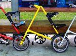 Rowery Strida dostępne w wielu kolorach