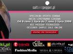 Saltandpepper.pl Online Designer Sample Sale - plakat imprezy