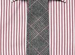 Koszula, $325,  Ermenegildo Zegna. Krawat, $150,  Valentino
