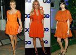 pomarańczowe sukienki