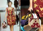 Kwiaty są widoczne m.in. u Dolce & Gabbana