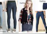 Jegginsy czyli jeansowe legginsy