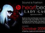 Lady Gaga zaprojektowała słuchawki HeartBeats