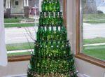 Choinka z butelek od piwa