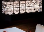 Kryształowa lampa sufitowa LP-013