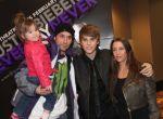Justin Bieber z rodziną