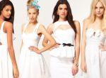 białe sukienki - moda 2012