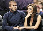 David Beckham z żoną