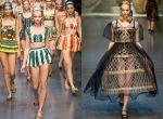 kolekcja Dolce & Gabbana 2013 - modne suknie