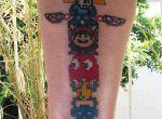 tatuaże gry Arcade