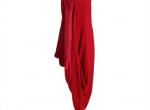 czerwona suknia H&M