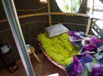 leśny namiot