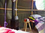 namiot - wystrój wnętrza