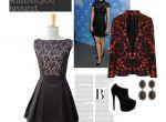 Kasia Zapała - połączenie sukienki z wzorzystym żakietem