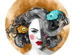 modne ilustracje - sztuka współczesna 2013