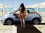 plażowy FIAT 500