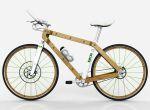 rower z drewna