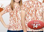 Rib Stain Camo - dziwne t-shirty