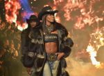 Naomi Campbell na Milan Fashion Week