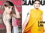 Lena Dunham w kwietniowym numerze Glamour, zdjęcie 2