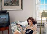 """Hilary Rhoda w sesji dla """"W Magazine"""", zdjęcie 2"""