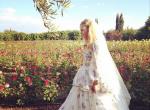 Poppy Delevingne w sukni ślubnej Emilio Pucci, zdjęcie 4