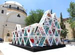 Domek z kart - Jerozolima, instalacje, zdjęcie 2