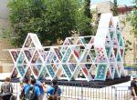Domek z kart - Jerozolima, instalacje, zdjęcie 3