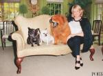 Martha Stewart na okładce Magazynu PORTER, autor zdjęć: Terry Richardson, fotografia 4