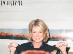 Martha Stewart na okładce Magazynu PORTER, autor zdjęć: Terry Richardson, fotografia 5