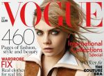 Cara Delevingne na okładce Vogue UK