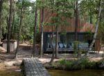 designerski dom w lesie, zdjęcie 4