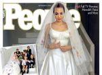 Angelina Jolie do ślubu w Versace, zdjęcie 2