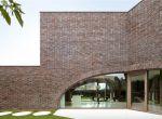 designerski dom z cegły, zdjęcie 2