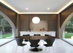 designerski dom z cegły, zdjęcie 4