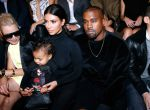 North West Kardashian, Kim Kardashian i Kanye West
