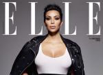 Kim Kardashian na okładce Elle UK