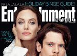 Angelina Jolie i Jack O′Connell na okładce Entertainment Weekly