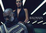Kim Kardashian i Kanye West w kampanii Balmain, zdjęcie 2