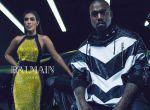 Kim Kardashian i Kanye West w kampanii Balmain, zdjęcie 3