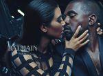 Kim Kardashian i Kanye West w kampanii Balmain, zdjęcie 4