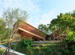 trendy w architekturze 2015 - drewniany dom w Japonii, zdjęcie 1