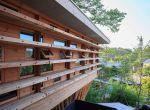 trendy w architekturze 2015 - drewniany dom w Japonii, zdjęcie 2