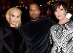 Kim Kardashian, Kanye West i Kris Jenner