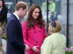 Kate Middleton w płaszczu Mulberry, zdjęcie 1