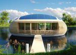 trendy w architekturze: dom na wodzie, zdjęcie 7