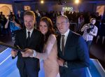 Agnieszka Radwańska, Matthias Breschan i Marek Lis - selfie
