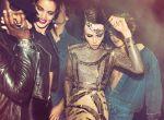 zmysłowe modelki na imprezie w paryskim klubie, zdjęcie 1