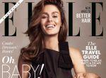 Nicole Trunfio na okładce magazynu Elle, zdjęcie 1